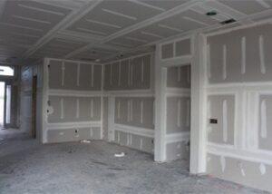 colocacion de paredes y drywall con pintura incluida