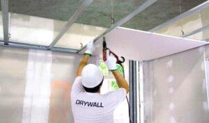 instalacion de techos, paredes y separaciones con drywall peru