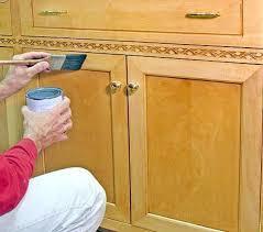 pintado de armarios de madera