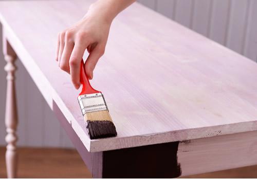 pintura de muebles de madera