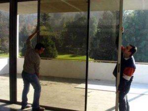 realizamos proyectos de instalacion de mamparas de vidrio y de cristal templado